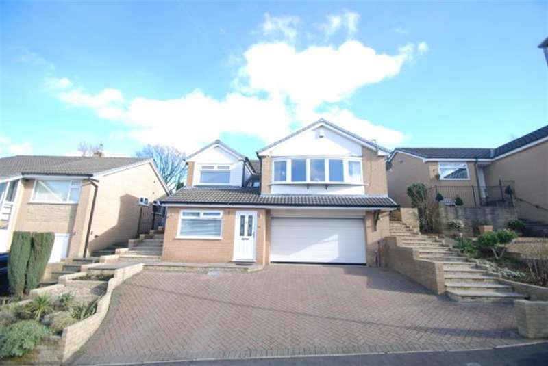 4 Bedrooms Detached House for sale in Fox Hill Drive, Stalybridge, Cheshire, SK15 2RP