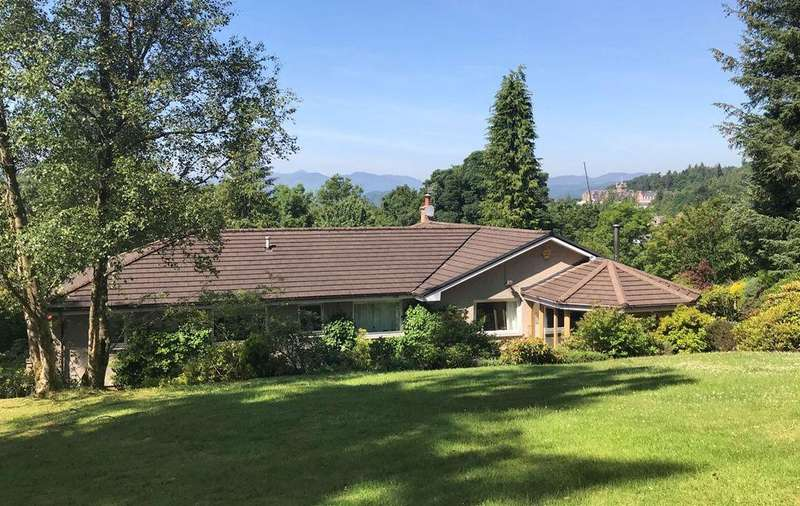 5 Bedrooms Detached Villa House for sale in Birchlands, Callum's Hill, Crieff, PH7 3LS