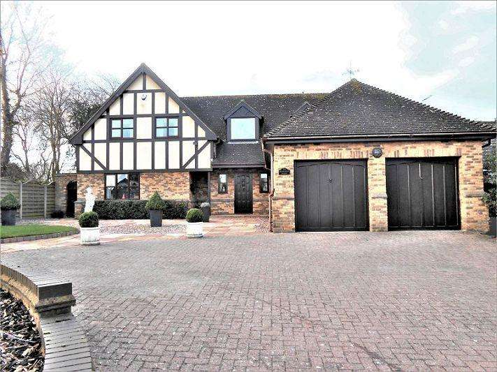 5 Bedrooms Detached House for sale in HIGHFIELDS HOUSE, Meppershall, Shefford