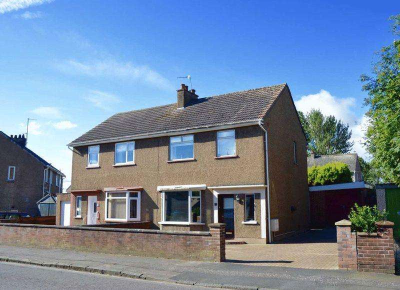 3 Bedrooms Semi-detached Villa House for sale in Teviot Street, Ayr
