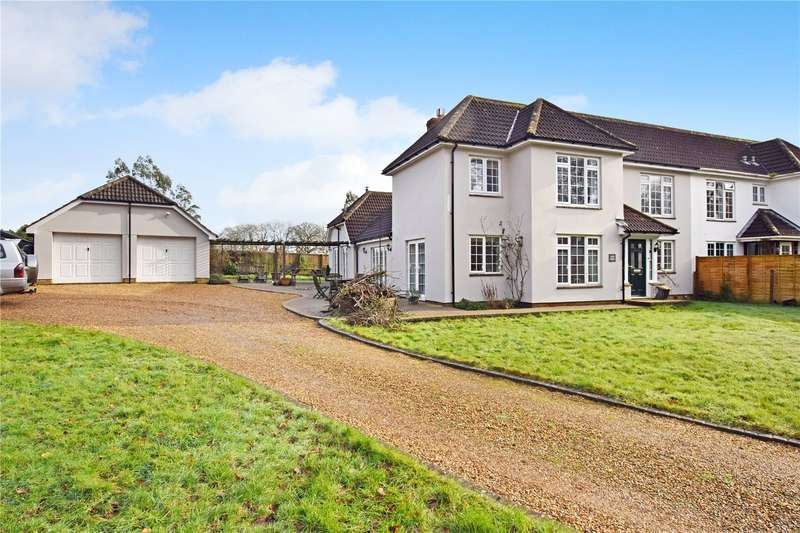 4 Bedrooms Semi Detached House for sale in Blackborough, Cullompton, Devon, EX15