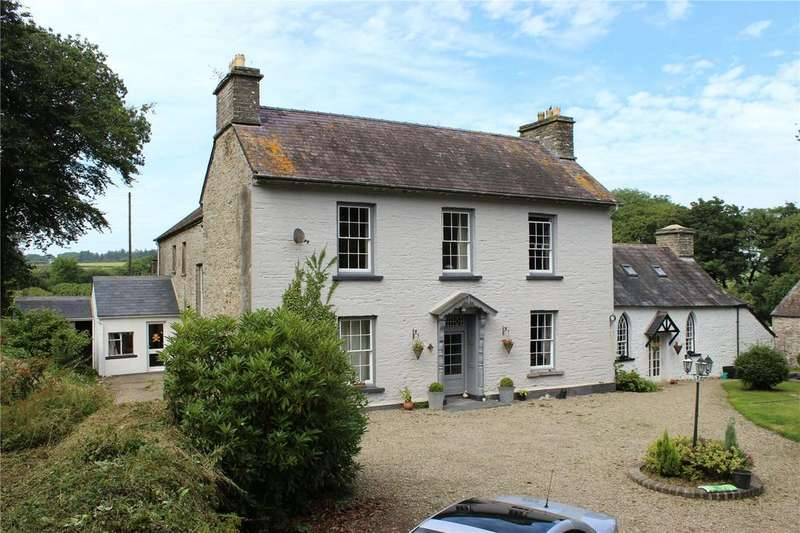 8 Bedrooms Detached House for sale in Trefach, Nevern, Nr Newport, Pembrokeshire, SA42