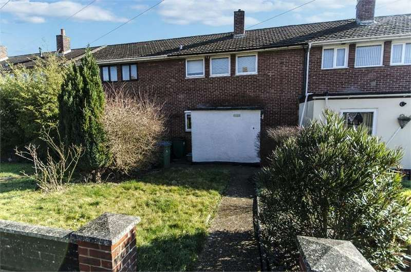 2 Bedrooms Terraced House for sale in Selborne Walk, Harefield, Southampton, Hampshire