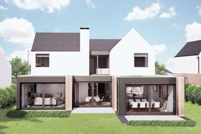 5 Bedrooms Detached House for sale in Plot 2,Pollick Avenue, Uplawmoor, Glasgow, G78 4AE