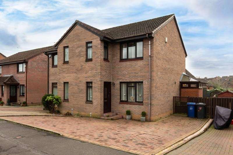 3 Bedrooms Semi Detached House for sale in 17 Locher Way, Houston, PA6 7AH