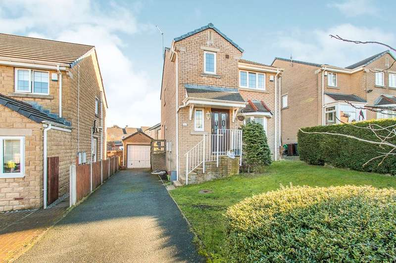3 Bedrooms Detached House for sale in Penrose Drive, Great Horton, Bradford, BD7