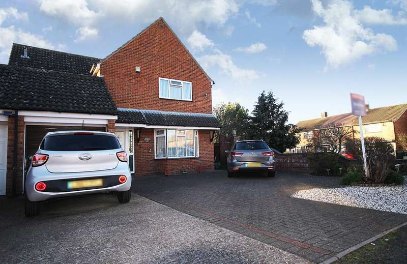 5 Bedrooms Link Detached House for sale in Chase Hill Road, Arlesey, SG15