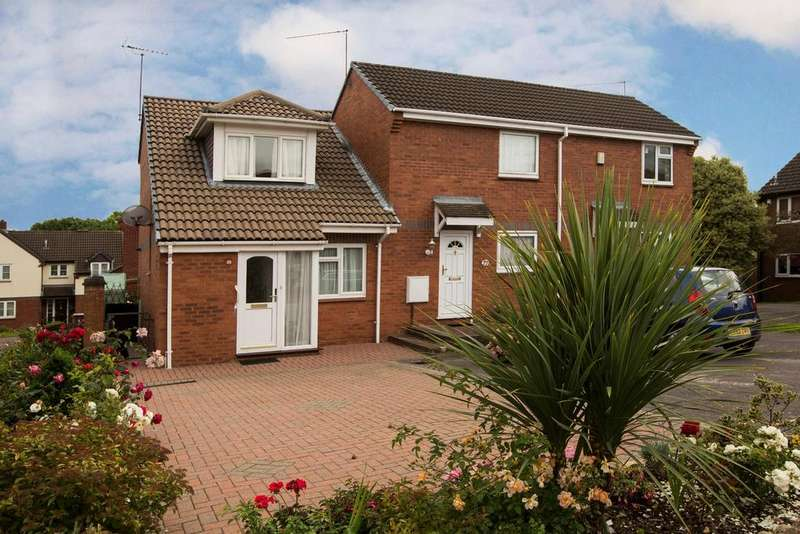 2 Bedrooms End Of Terrace House for sale in Colmworth Close, Lower Earley, Reading, RG6 4DZ