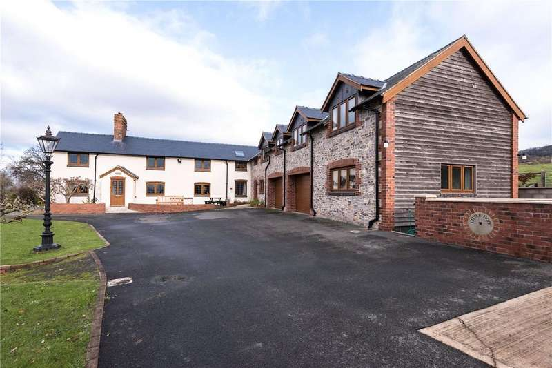 6 Bedrooms Detached House for sale in Hope, Leighton, Welshpool