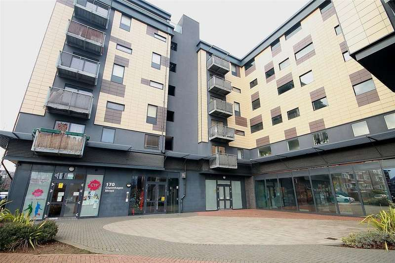 2 Bedrooms Apartment Flat for sale in Kings Quarter, 170 Copenhagen Street, Islington, London, N1