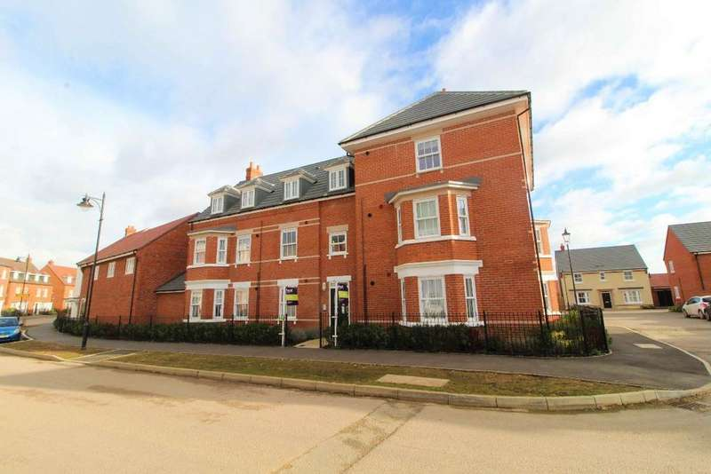 2 Bedrooms Apartment Flat for sale in Anglia Way, Great Denham, MK40
