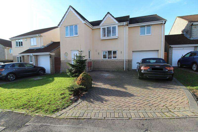 5 Bedrooms Detached House for sale in Cooks Close, Bradley Stoke