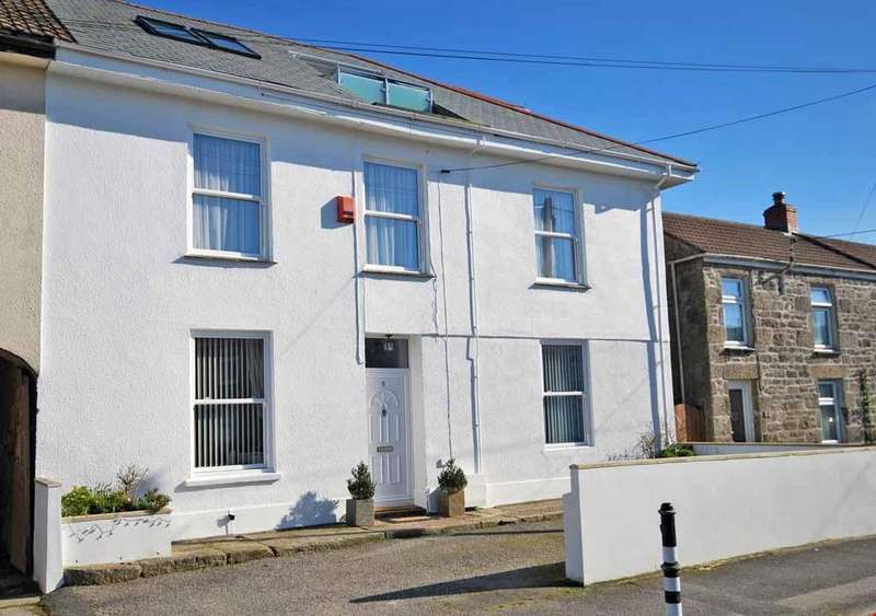 5 Bedrooms Semi Detached House for sale in Troon, Camborne, Cornwall