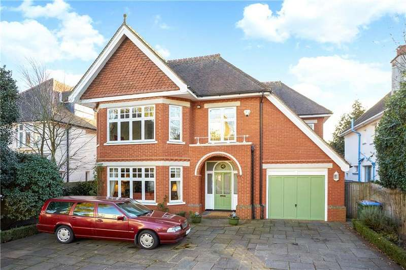 6 Bedrooms Detached House for sale in Wolsey Road, East Molesey, Surrey, KT8
