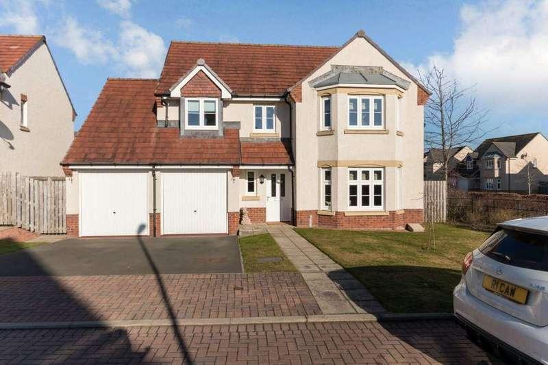 4 Bedrooms Detached House for sale in 4 Burnbrae Crescent, Bonnyrigg, EH19 3FQ