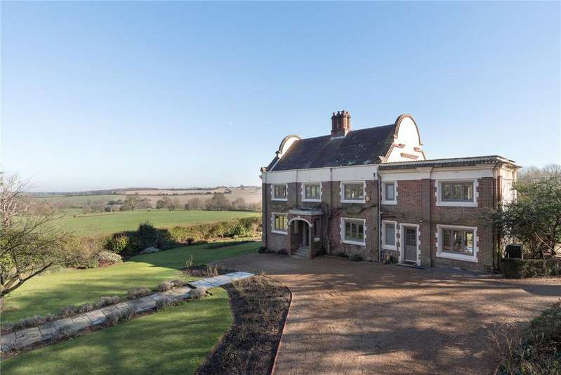 4 Bedrooms Detached House for sale in Waltham Road, Petham, Canterbury, Kent