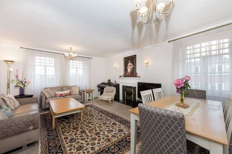 4 Bedrooms Apartment Flat for sale in Hyde Park Mansions, Chapel Street, Marylebone, London, NW1