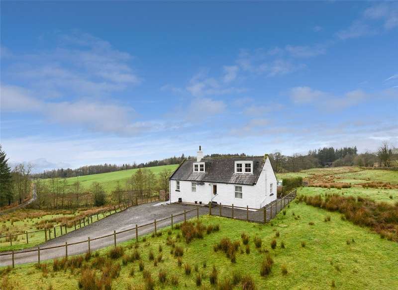 3 Bedrooms Detached House for sale in West Newlands Cottage, Thornhill, Dumfries and Galloway, DG3