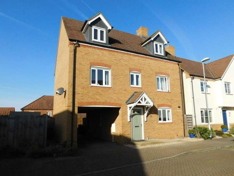 5 Bedrooms Detached House for sale in Garfield, Langford, Beds