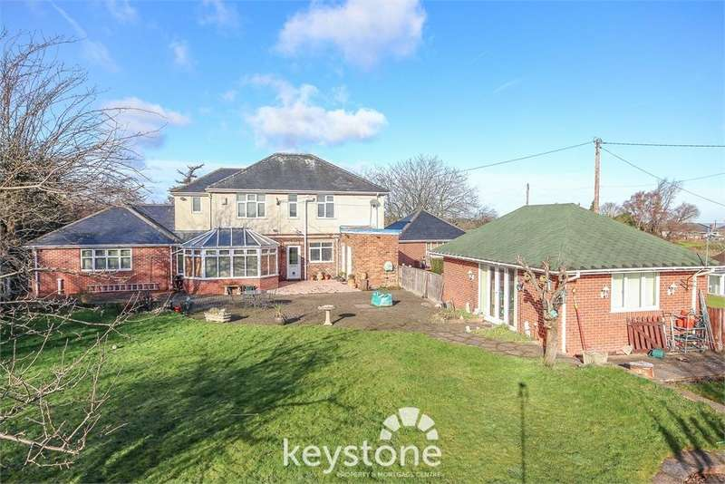 5 Bedrooms Detached House for sale in Northop Road, Flint Mountain, Flint, Flintshire. CH6 5QG