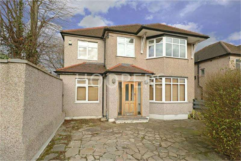 4 Bedrooms Detached House for sale in Hill Close, London