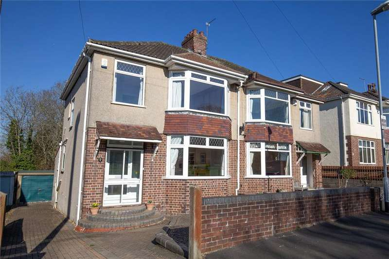 3 Bedrooms Semi Detached House for sale in Abbots Way, Henleaze, Bristol, BS9
