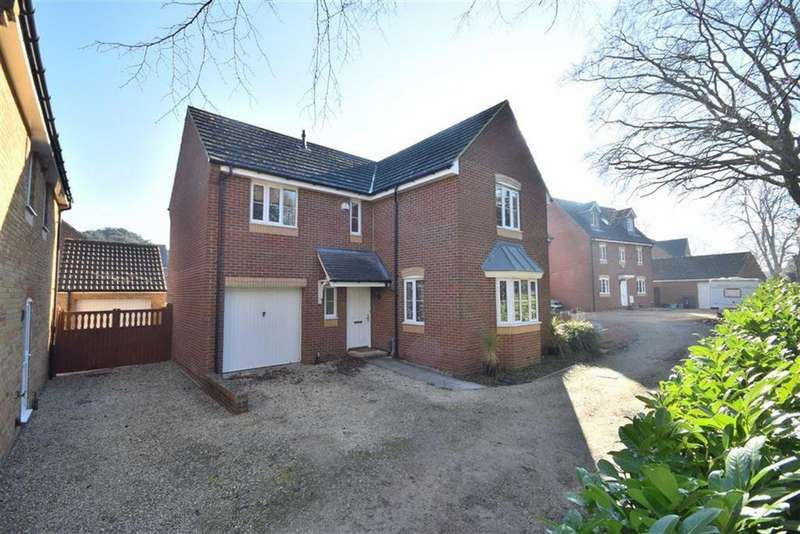 4 Bedrooms Detached House for sale in Youngs Orchard, Abbeymead, Gloucester