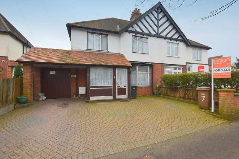 3 Bedrooms Semi Detached House for sale in Compton Avenue, Luton, Bedfordshire, LU4 9AX