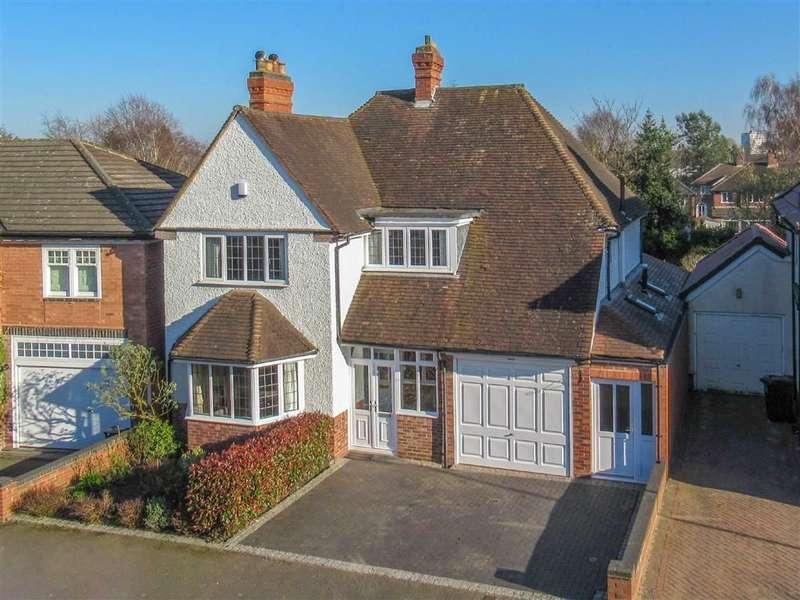 4 Bedrooms Detached House for sale in Crosbie Road, Harborne