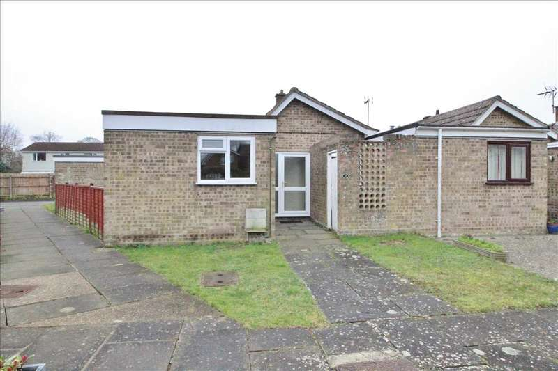 2 Bedrooms Bungalow for sale in Tennyson Close, Woodbridge