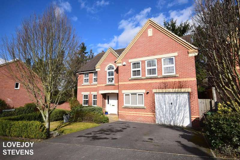 5 Bedrooms Detached House for sale in Lamtarra Way, Newbury RG14
