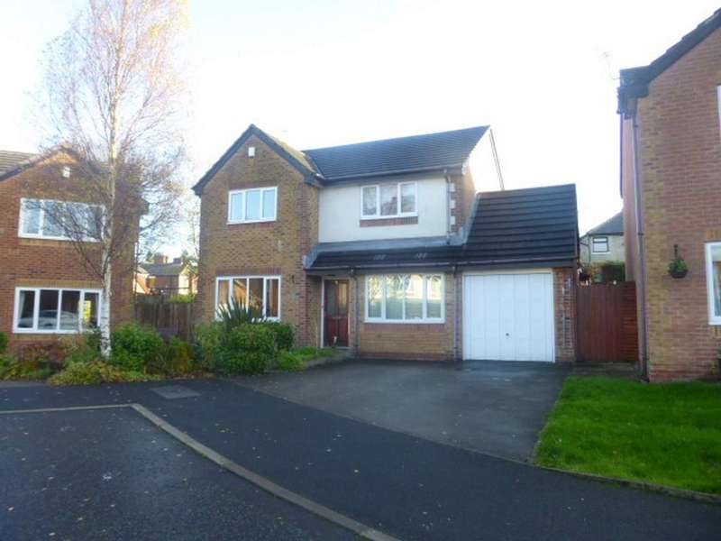4 Bedrooms Detached House for sale in Westbrook Close, Castleton, Rochdale