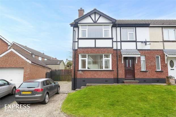 3 Bedrooms Semi Detached House for sale in Earls Court, Altnagelvin, Londonderry