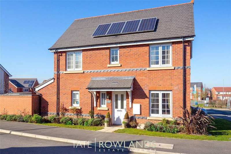 3 Bedrooms Detached House for sale in Ffordd Pedrog, Flint, Flintshire, CH6