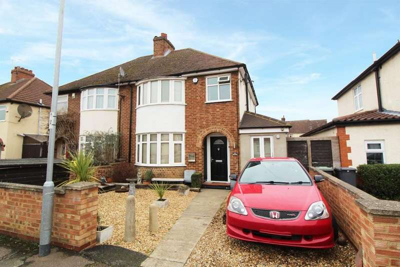 4 Bedrooms Semi Detached House for sale in Eaton Road, Kempston MK42