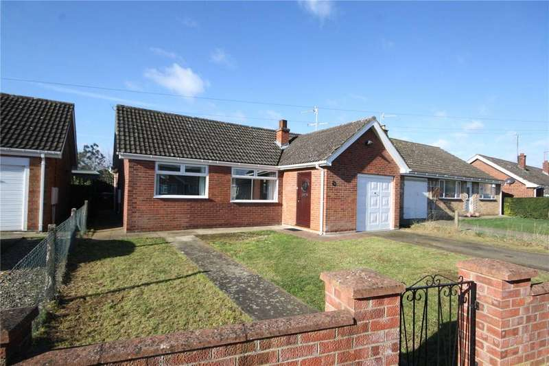 2 Bedrooms Detached Bungalow for sale in Meadowfield, Sleaford, Lincolnshire, NG34