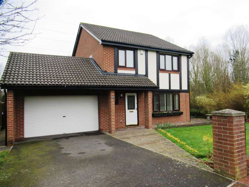 4 Bedrooms Detached House for sale in Monkridge, Newcastle upon Tyne