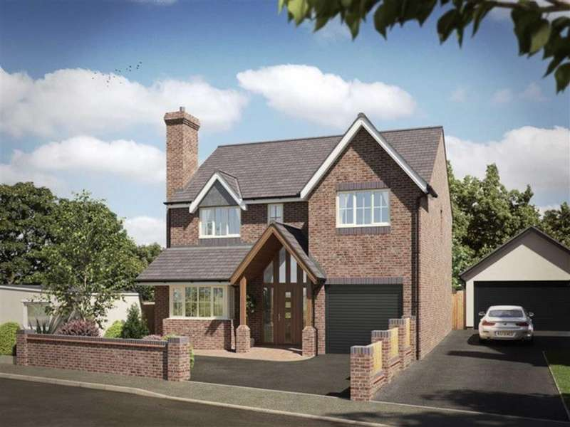 4 Bedrooms Detached House for sale in Bullfurlong Lane, Burbage, Leicestershire