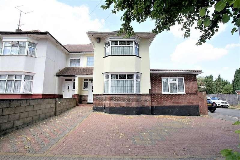 5 Bedrooms Semi Detached House for sale in Halfway Avenue, Challney, Luton, LU4