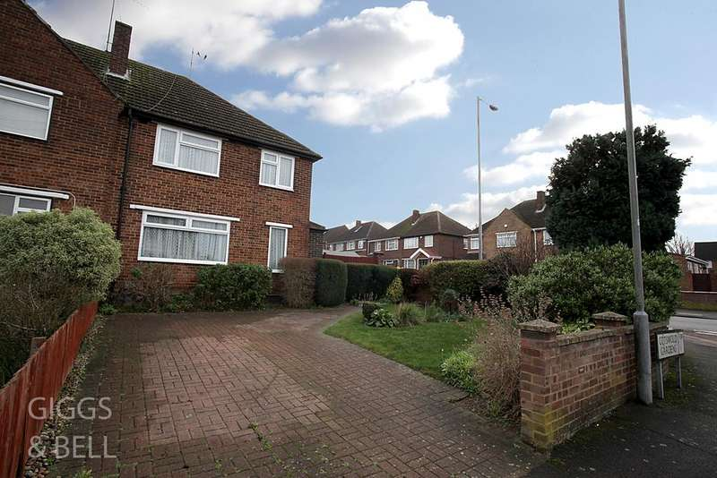 3 Bedrooms Semi Detached House for sale in Hill Rise, Luton, Bedfordshire, LU3