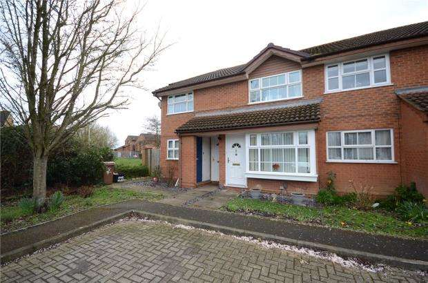 2 Bedrooms Maisonette Flat for sale in Harvard Close, Woodley, Reading