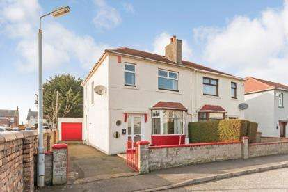 3 Bedrooms Semi Detached House for sale in Kirkhill Crescent, Prestwick