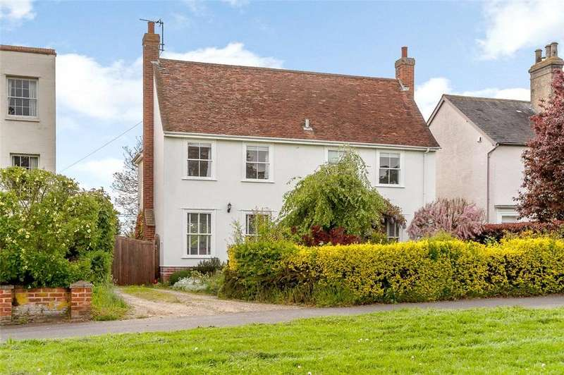 4 Bedrooms Detached House for sale in The Green, Long Melford, Sudbury, Suffolk, CO10
