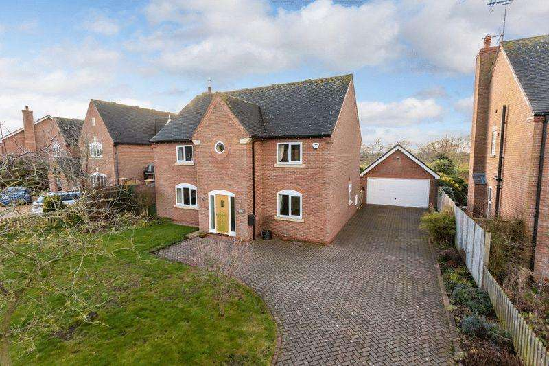 5 Bedrooms Detached House for sale in Maplewood House, Hall Lane, Hankelow