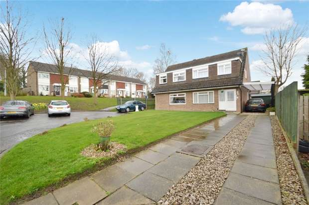3 Bedrooms Semi Detached House for sale in Elgol Close, Davenport, Stockport, Cheshire
