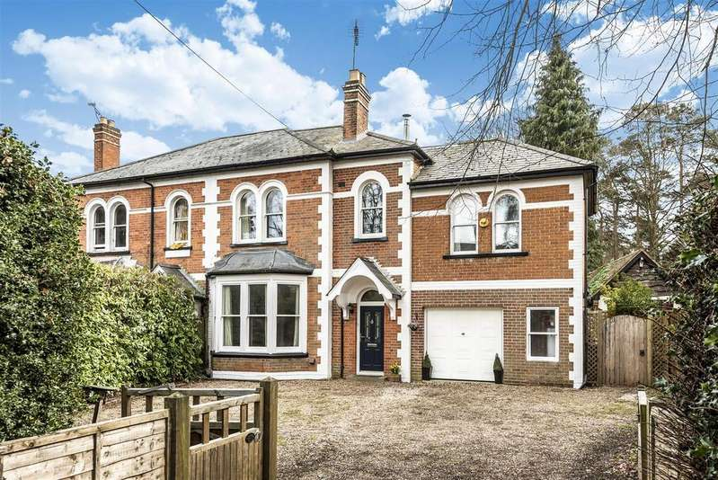 4 Bedrooms Semi Detached House for sale in Sandhurst Road, Crowthorne, Berkshire RG45 7HY