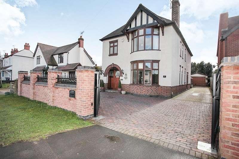 3 Bedrooms Detached House for sale in Rugby Road, Bulkington, Bedworth, CV12