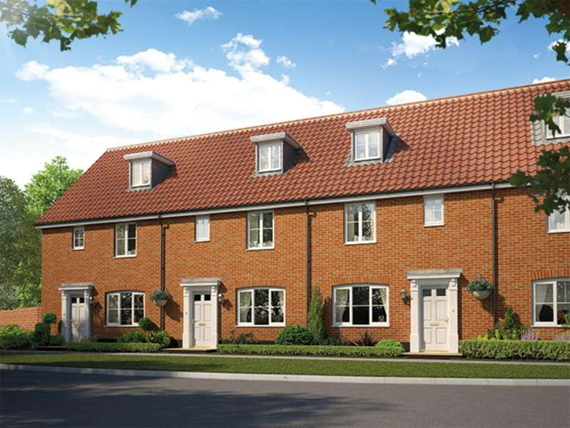 3 Bedrooms Terraced House for sale in Leiston, Heritage Coast, Suffolk