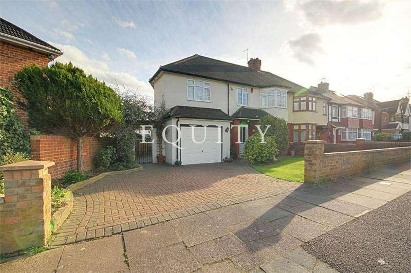 4 Bedrooms End Of Terrace House for sale in Meadway, Enfield, EN3