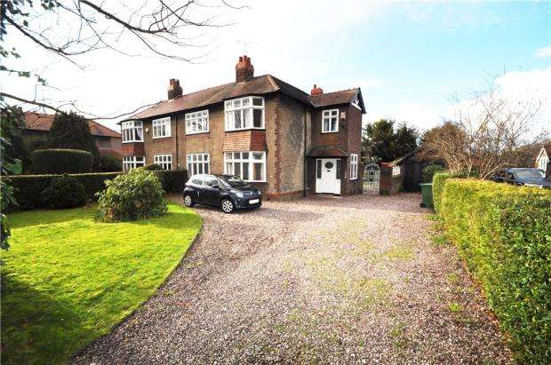 4 Bedrooms Semi Detached House for sale in Kilmorey Park, Chester